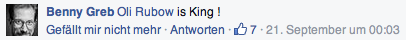 Oli Rubow is King!