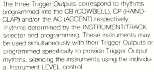 tr-808 trigger output