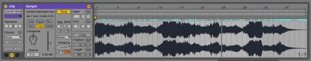 nicht gewarptes Audiofile loopen