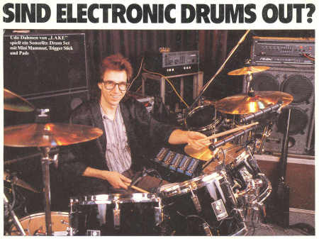 sind electronic drums out