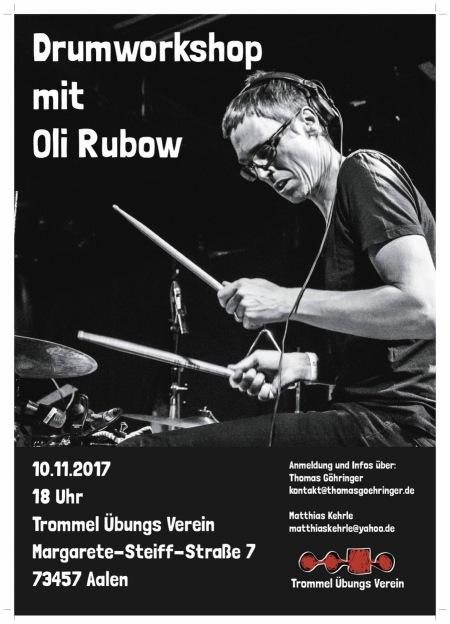 Plakat Oli Rubow klein